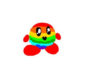 Rainbow Chaos Kirby