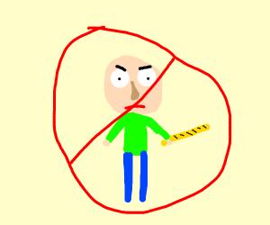 Person Who Isn't Baldi
