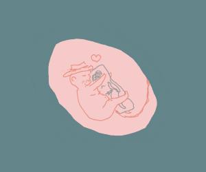 fetus likes anime