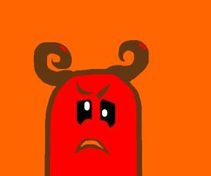 Slightly angry demon