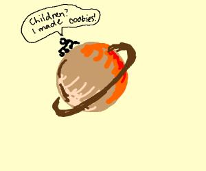 Grandma on Saturn