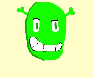 Shrek is aghast!