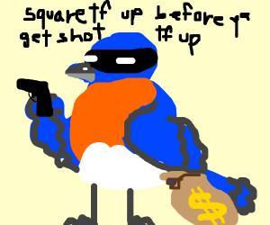 criminal blue bird