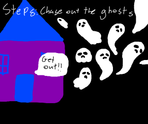 Step 7: Throw up ghosts