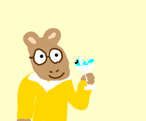 Arthur With A Dratini Martini
