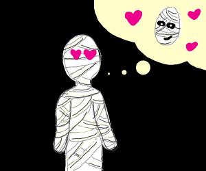 a mummy in love