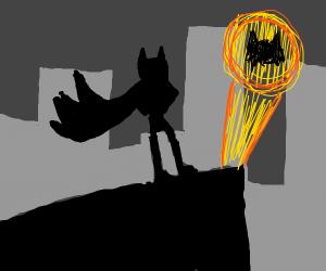 cat man (like batman but a cat)