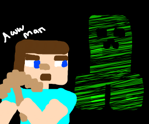 Creeper back in the mines