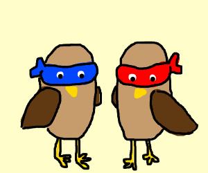 Ninja bird clones