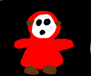 A Shy Guy from Mario
