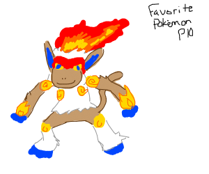 Favorite Pokemon PIO