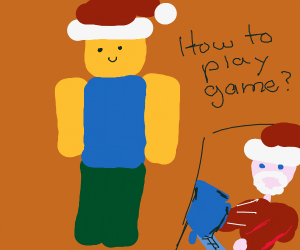 Santa is a noob