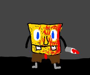 Dark spongebob
