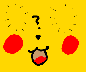 pikachu but where are its eyes supposed to go