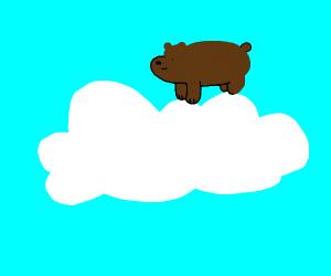 Bear On A Cloud