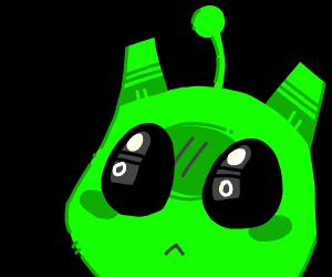 Alien cat