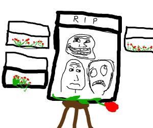 Meme funeral