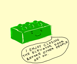 Rude Lego