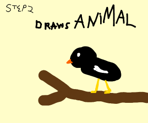 Step 1: Learn how to draw animals.