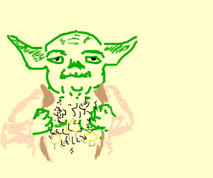 yoda and his hairy chest