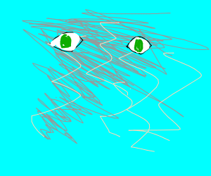 Storm with eyes