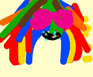 rainbow dash becomes 6ix9ine