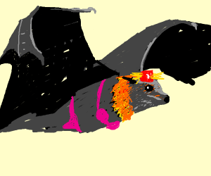 Bat Girl as a Cop!