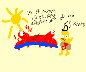 mr crabs is dried out