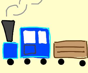Blue square train