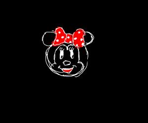 Anime Minnie Mouse