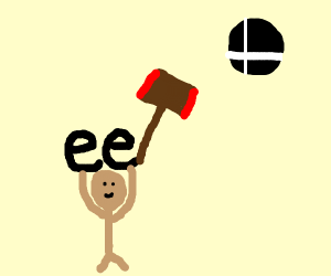 "idk, something about smash. A man with ""ee""."