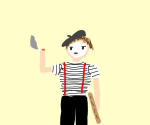 French mime?????