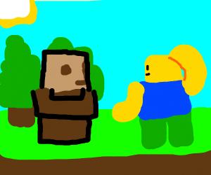 ROBLOX in Minecraft