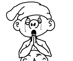 smurf begs for forgiveness
