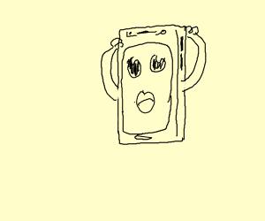 Surprised Telephone