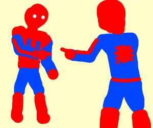double spiderman meme (search it)