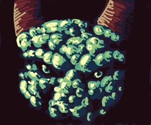 goblin has bumpy face