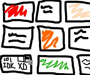 "Flagging ""lol idk xD"" panels"