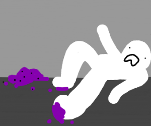 Slipped on the Grape Jam; Fell on Their Back