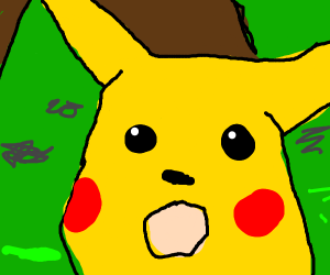 Shocked Pikachu