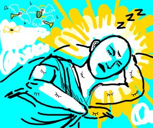 God Sleeping