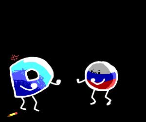 Drawception vs. Russia