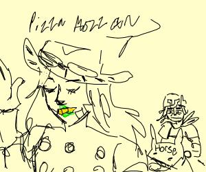 gyro sings pizza mozzarella song