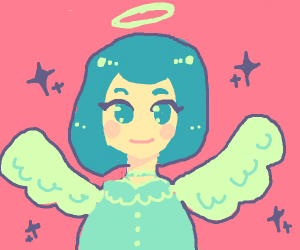 Cute Angel Girl