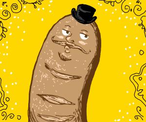 Snooty baguette