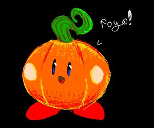 pumpkin kirby