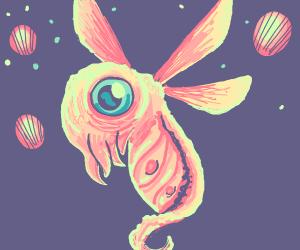 Fetus alien bug