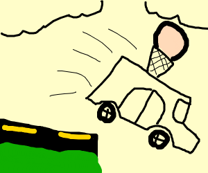 Ice cream van suicide