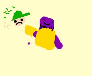 Thanos In Smash Bros