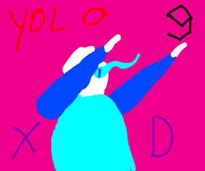 YOLO Sans tries to be hip